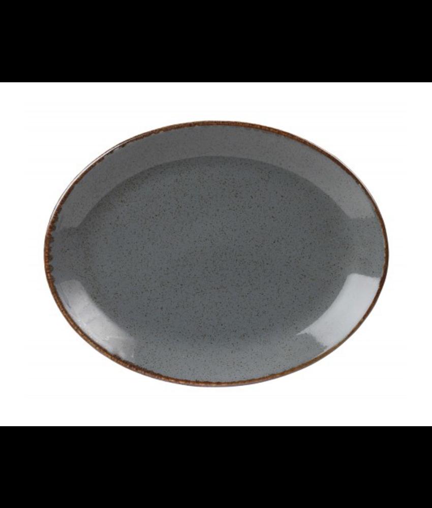 Porcelite Seasons Storm Ovaal bord 30,5 cm ( 6 stuks)