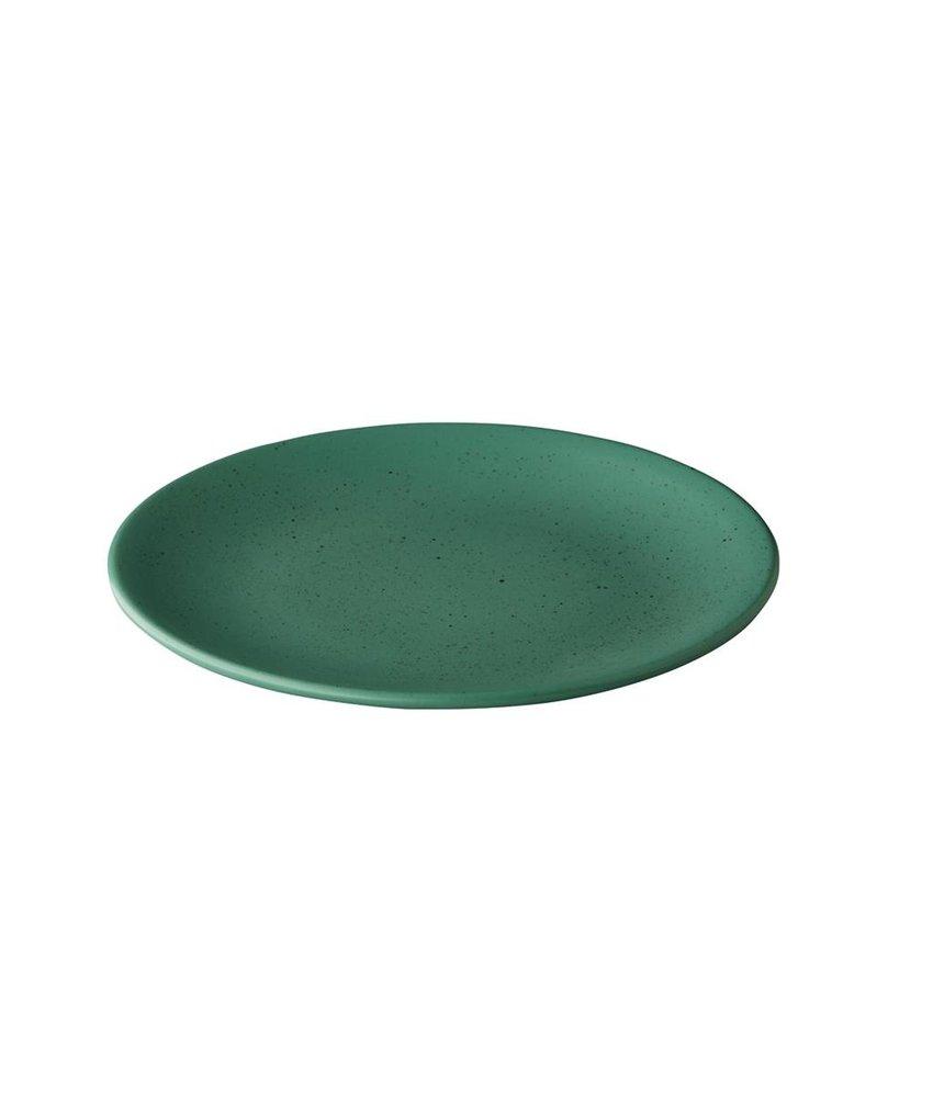 Q Authentic Tinto Bord mat groen 30cm ( 6 stuks)