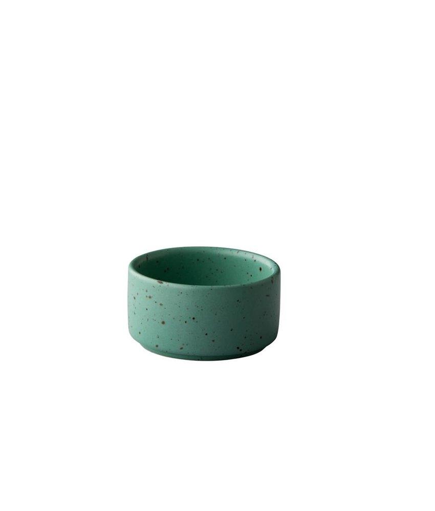 Q Authentic Tinto Stapelbaar sausbakje mat groen 5 cm ( 12 stuks)