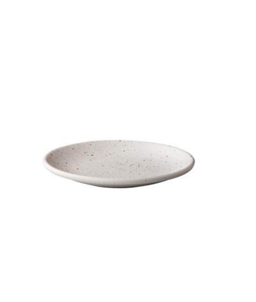 Q Authentic Tinto Bord mat wit 30cm ( 6 stuks)