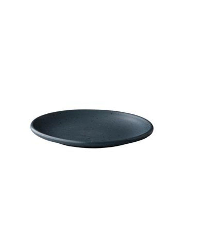Q Authentic Tinto Bord mat donkergrijs 30cm ( 6 stuks)