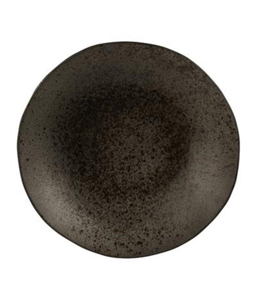 Q Authentic Stoneblack Coupe bord diep 26,5 cm ( 6 stuks)
