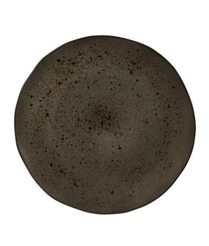 Q Authentic Stoneblack Bord 31,5 cm ( 4 stuks)