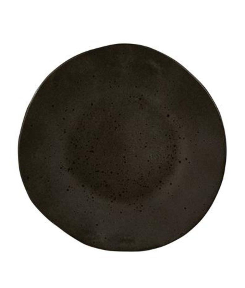 Q Authentic Stoneblack Bord 28,5 cm ( 6 stuks)