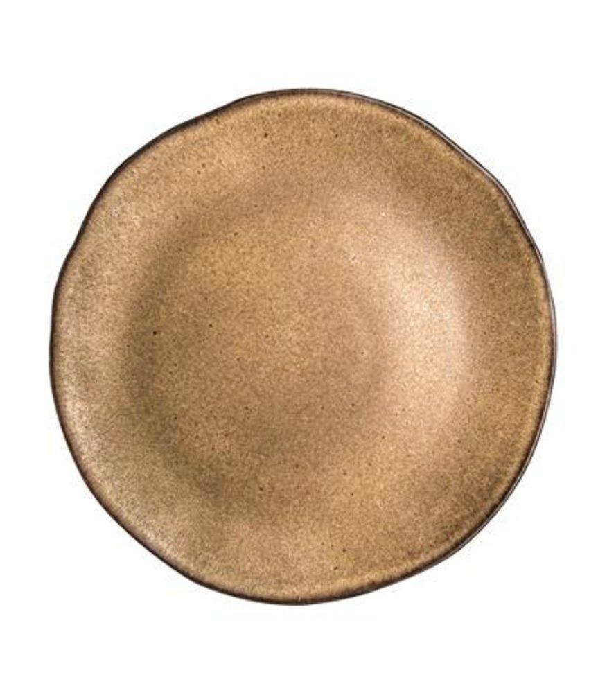 Q Authentic Stonebrown Bord 31,5 cm ( 4 stuks)
