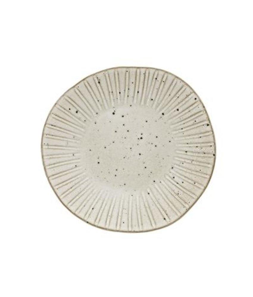 Q Authentic Stonewhite Bord 28,5 cm ( 6 stuks)
