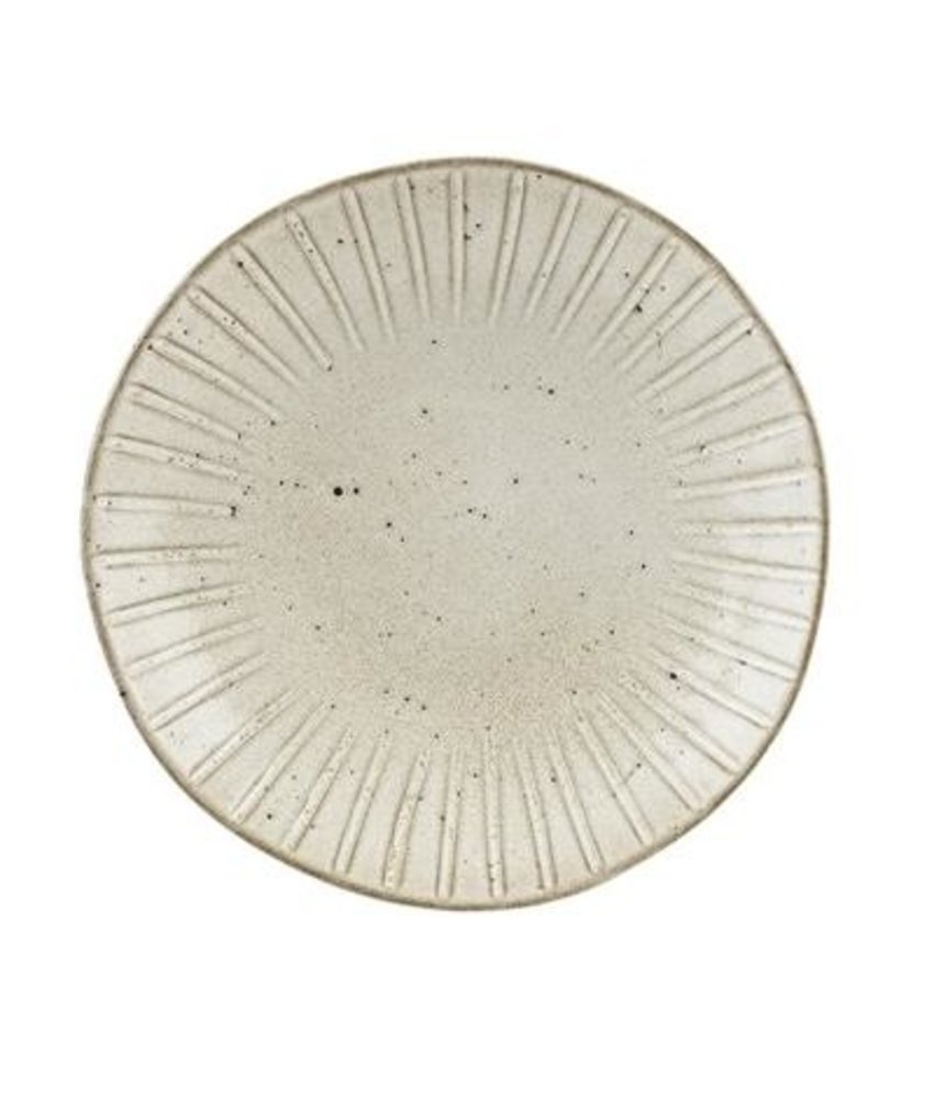 Q Authentic Stonewhite Coupebord 26,5 cm ( 4 stuks)