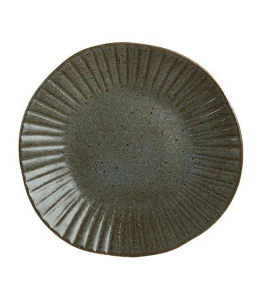 Q Authentic Stonegreen Bord 28,5 cm ( 6 stuks)