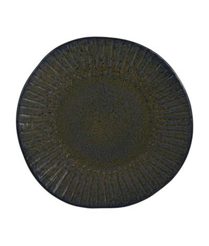 Q Authentic Stoneblue Bord 28,5 cm ( 6 stuks)