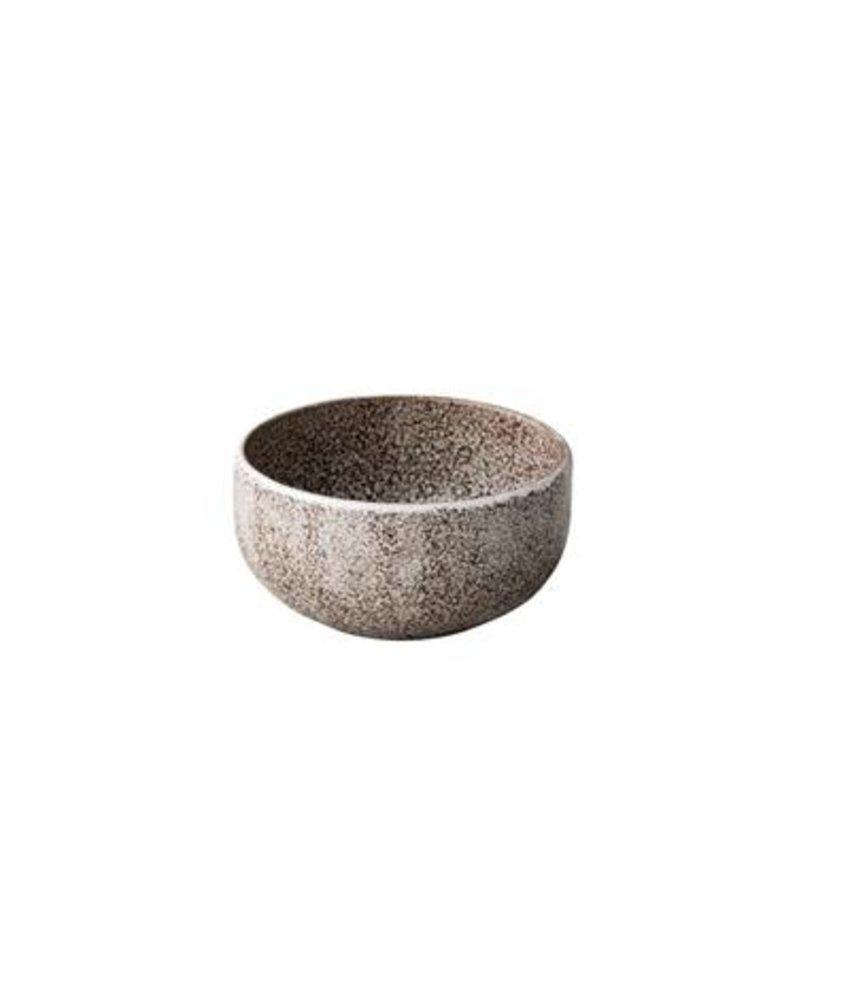 Q Raw Rock kom Ø13 x 6,5cm 500ml ( 4 stuks)