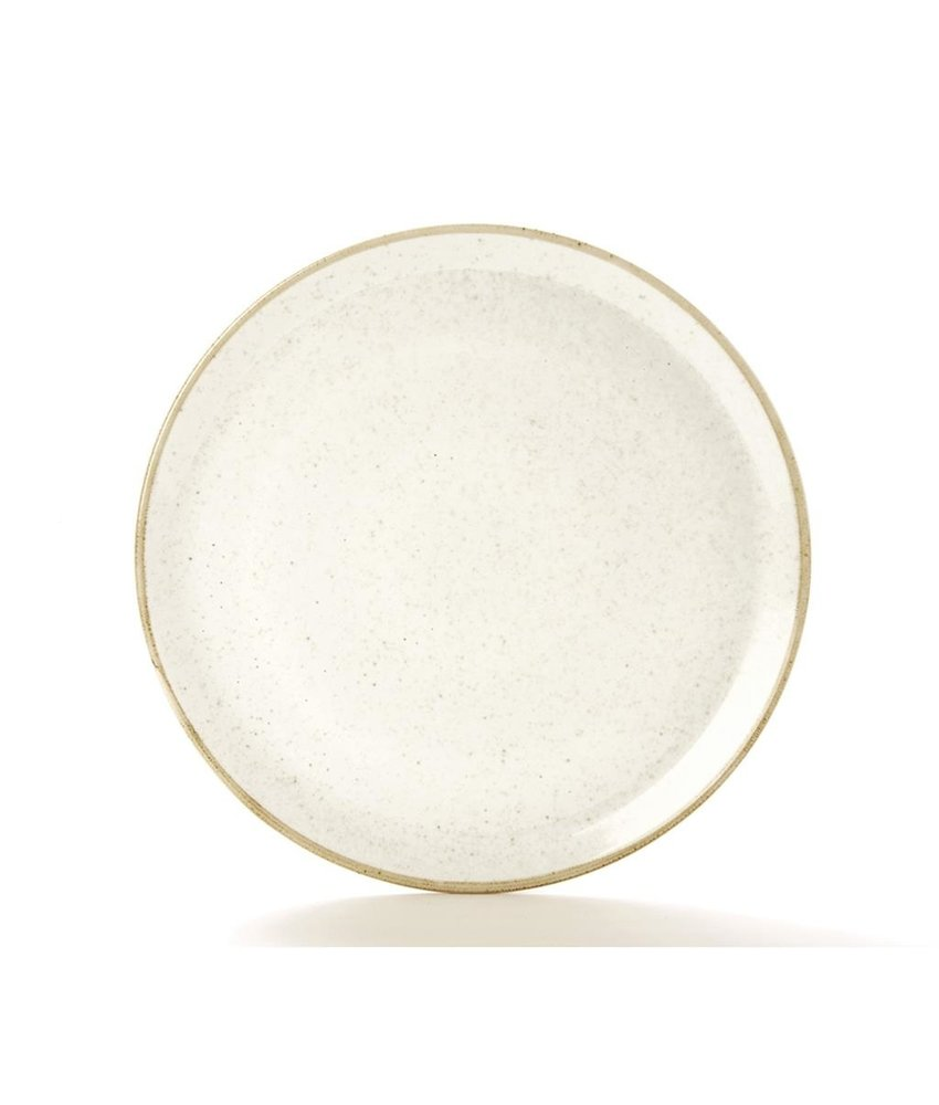 Porcelite Seasons Oatmeal Pizzabord ( 6 stuks)