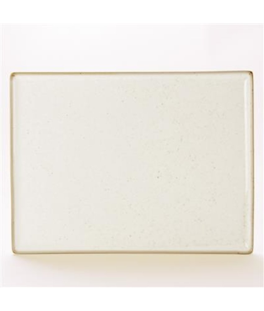 Porcelite Seasons Oatmeal Rechthoekig bord ( 6 stuks)