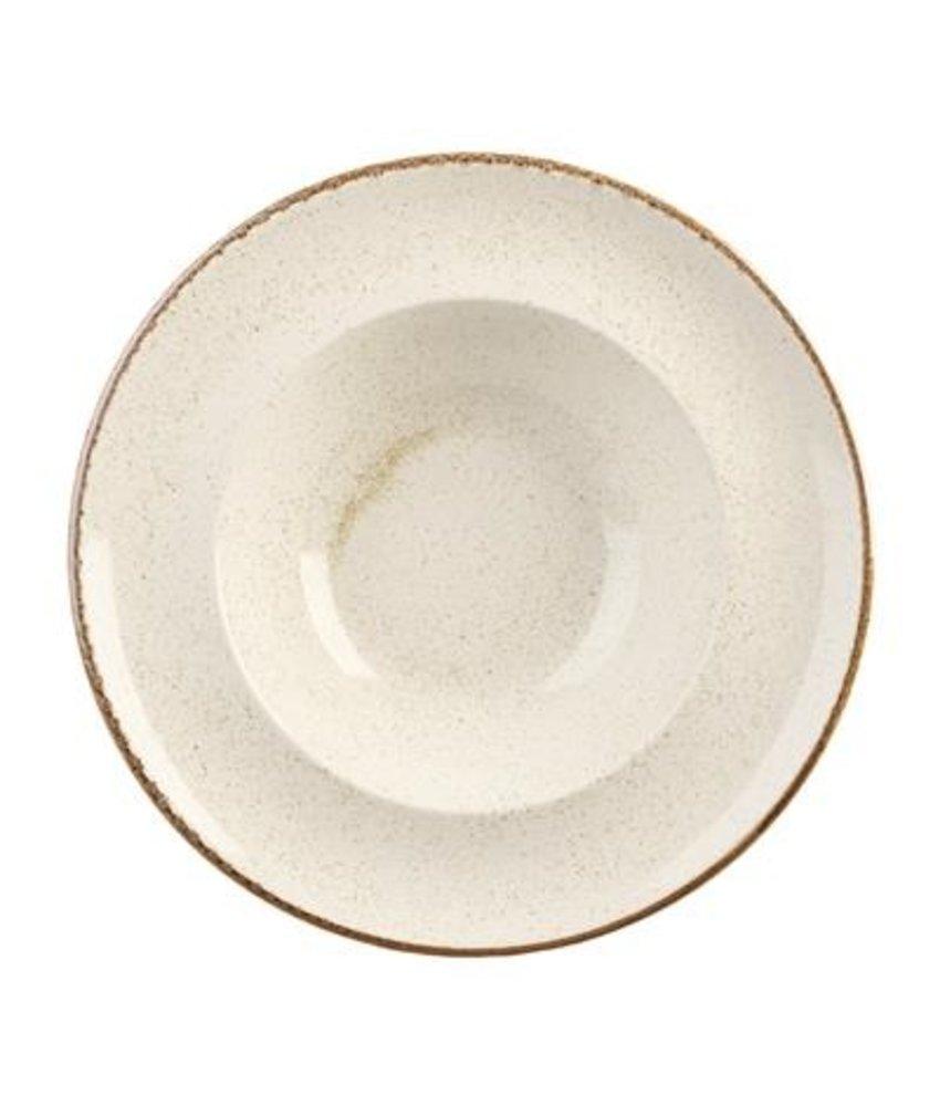 Porcelite Seasons Oatmeal Pastabord ( 6 stuks)