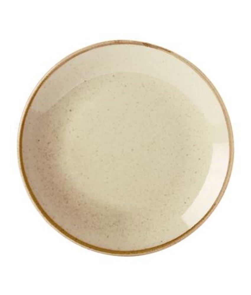 Porcelite Seasons Wheat Coupe bord  ( 6 stuks)