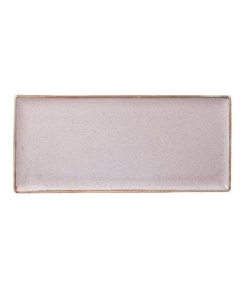 Porcelite Seasons Stone Rechthoekig bord 35 x 15,5 cm ( 6 stuks)