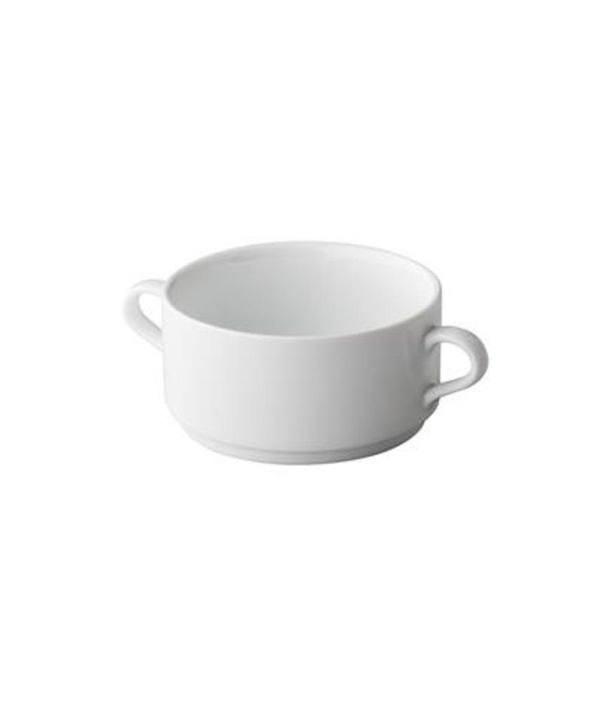 Q Basic Stapelbare soepkom 2 oren 300 ml ( 6 stuks)