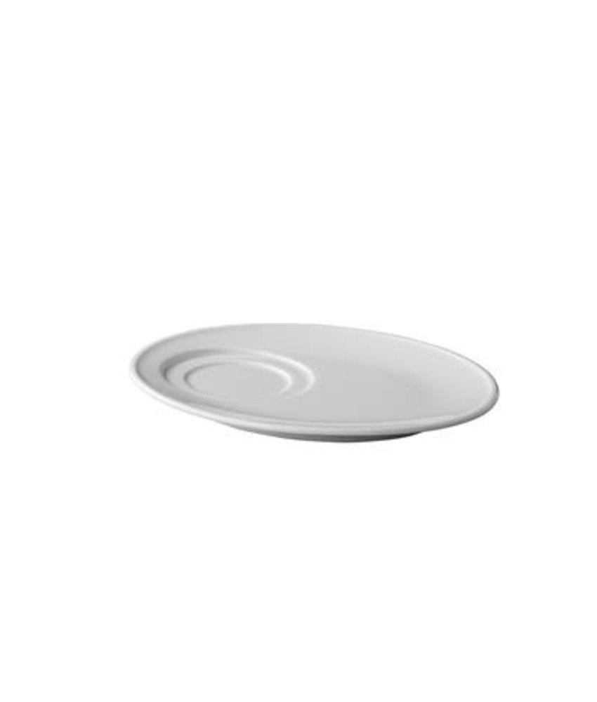 Q Basic Ovale schotel 21 cm ( 12 stuks)