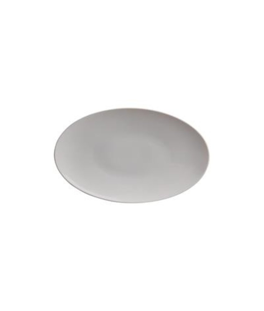 Q Basic Coupe bord ovaal 33 cm - visbord ( 4 stuks)