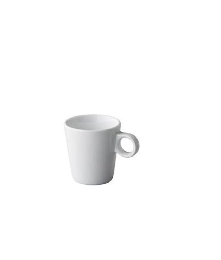 Q Basic Koffiekop conisch 180 ml ( 12 stuks)
