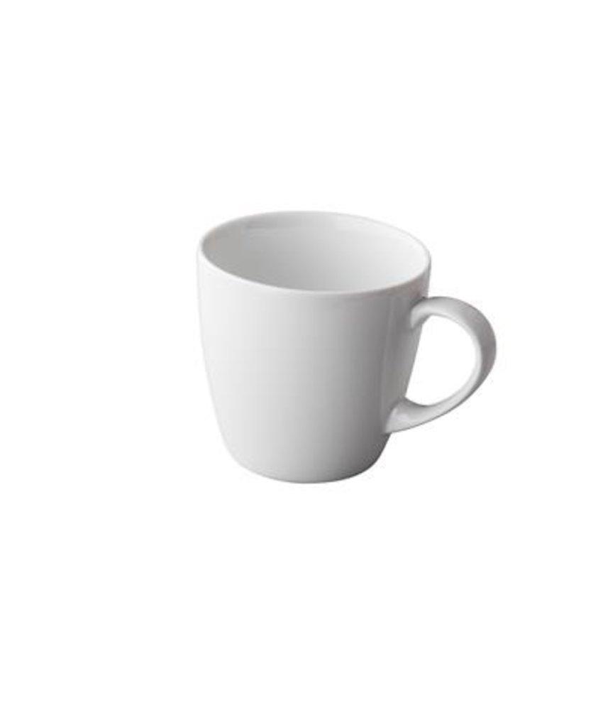 Q Basic Mok 300 ml - latte of chocomelk (6 stuks)