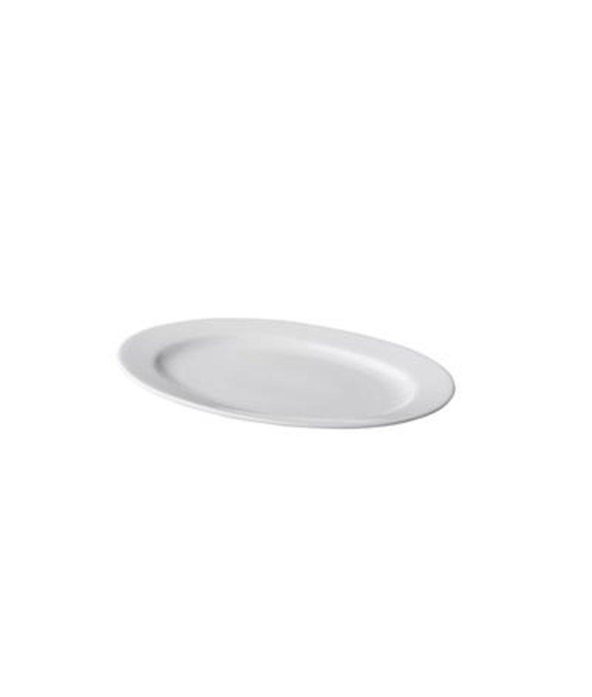 Q Basic Ovale schaal 22 cm ( 6 stuks)