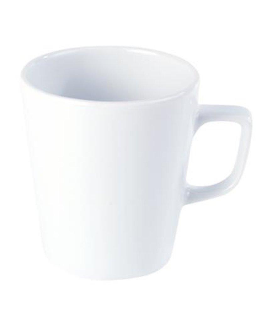 Porcelite Standard conische mok 340 ml ( 6 stuks)