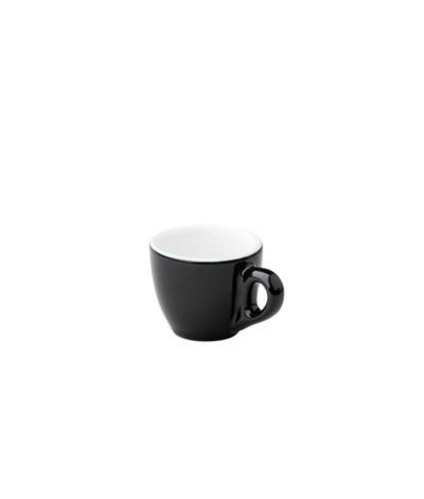 Barista Espresso kop zwart 70ml ( 6 stuks)