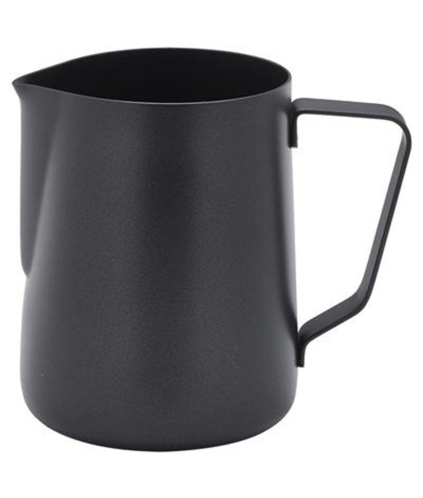 Coffeepoint RVS roomkan met non-stick coating zwart