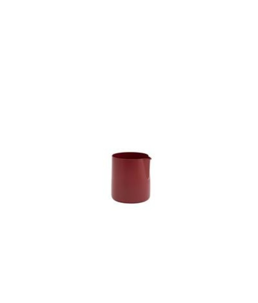 Coffeepoint RVS roomkan met non-stick coating rood 150 ml