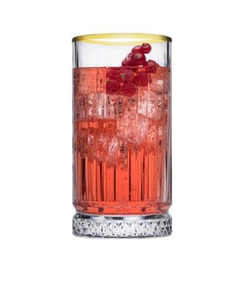 Stylepoint Elysia golden touch long drink glas 445 ml ( 6 stuks)