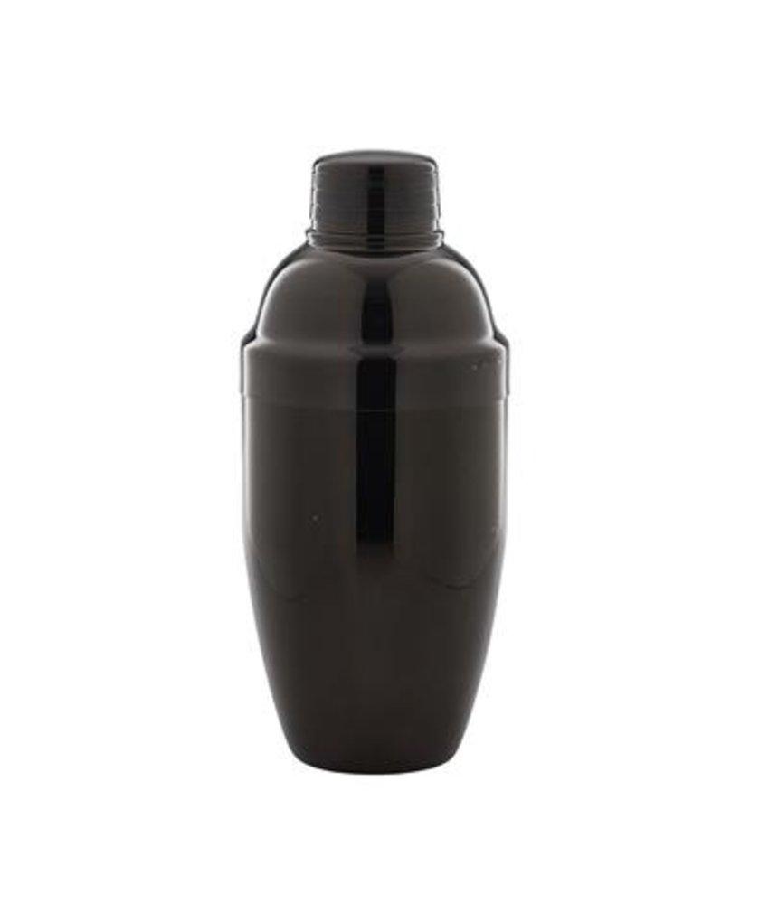 Stylepoint Cobbler cocktailshaker gun metal zwart 500 ml