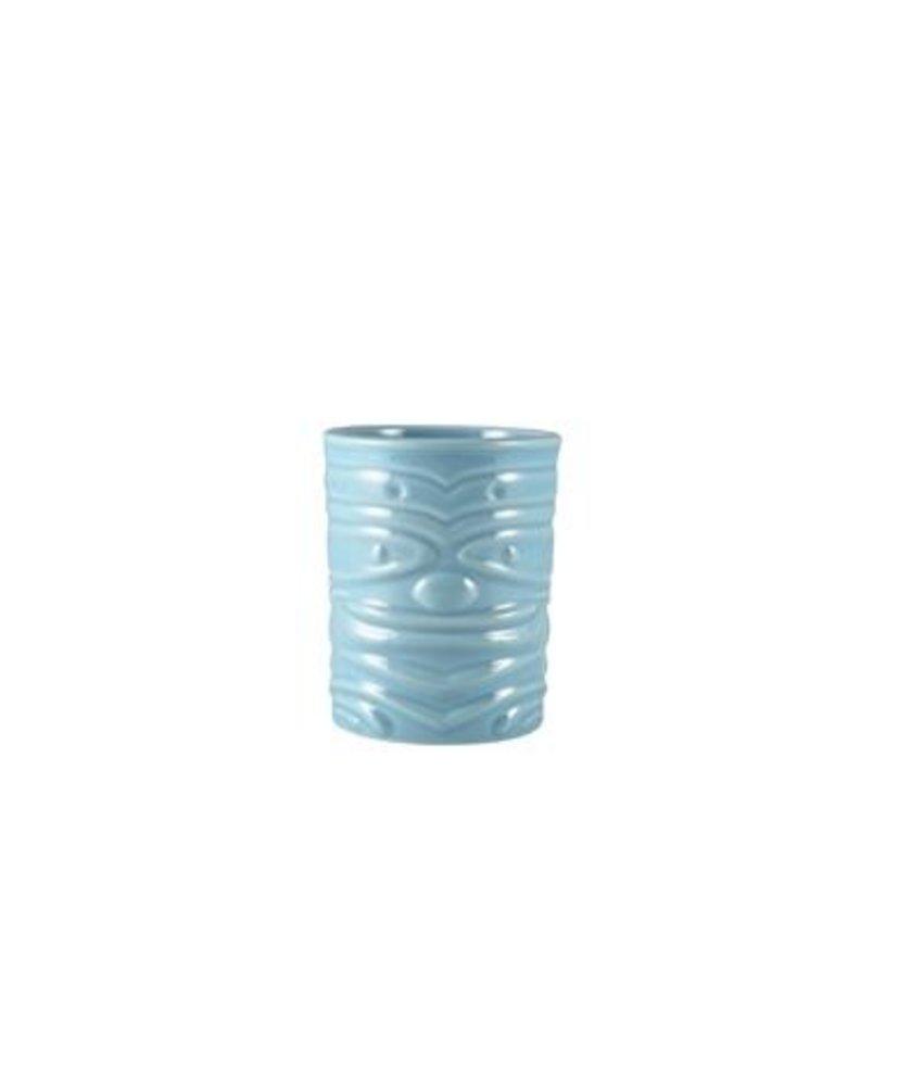 Stylepoint Tiki beker blauw 360ml ( 4 stuks)