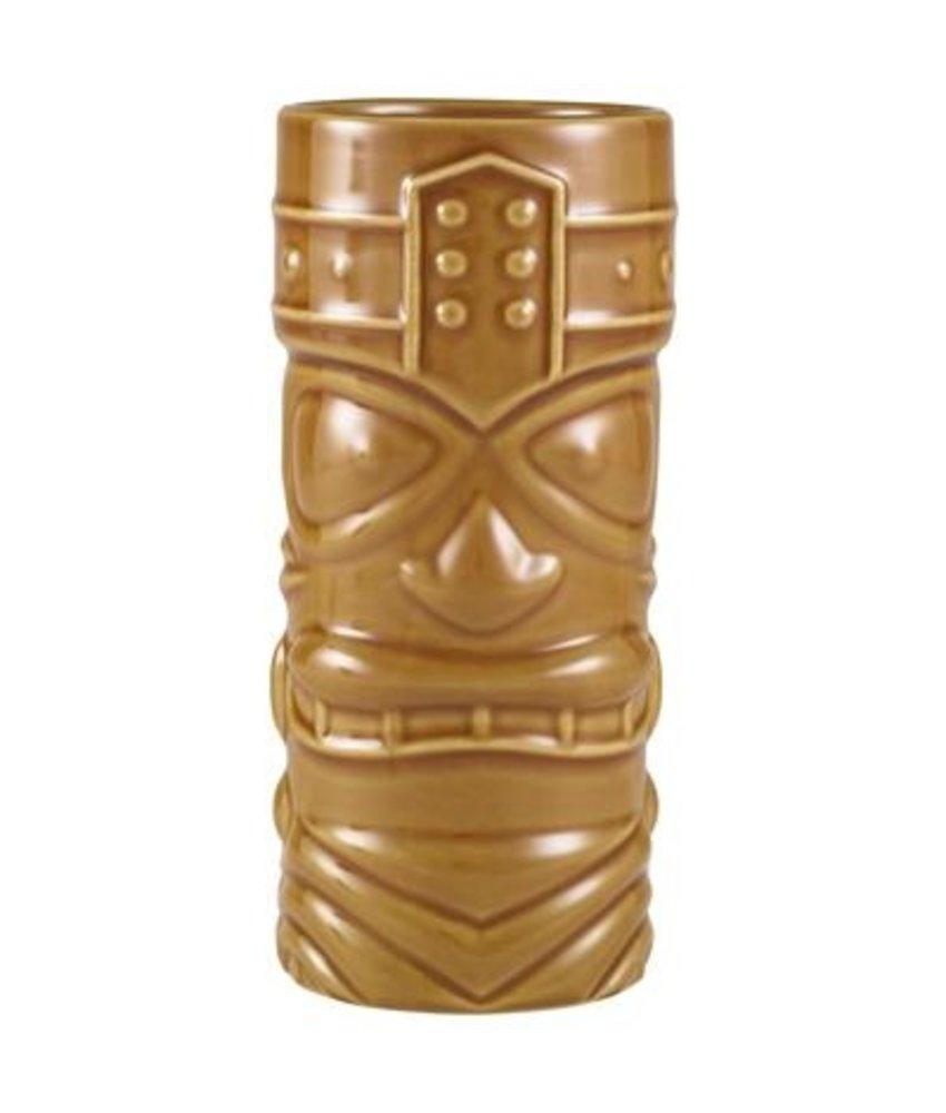 Stylepoint Tiki beker bruin 400 ml ( 4 stuks)