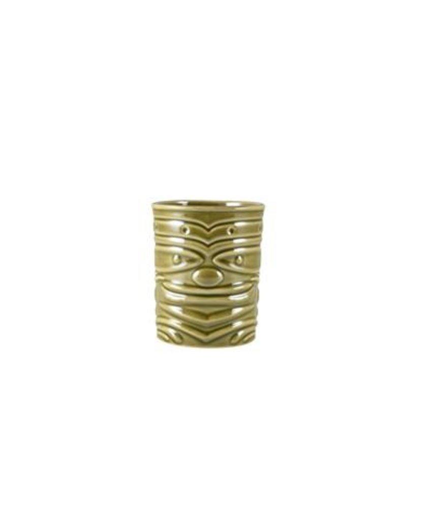 Stylepoint Tiki beker groen 360ml ( 4 stuks)