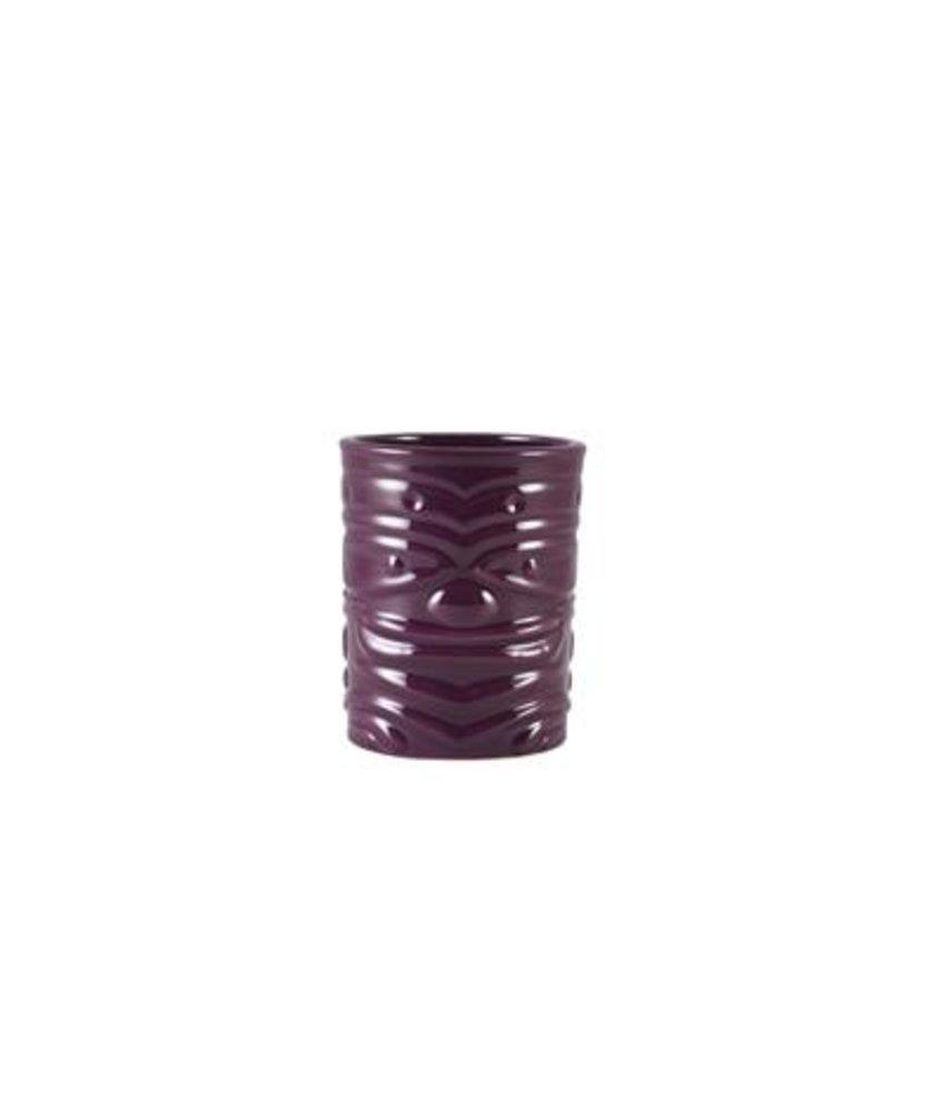 Stylepoint Tiki beker paars 360ml ( 4 stuks)