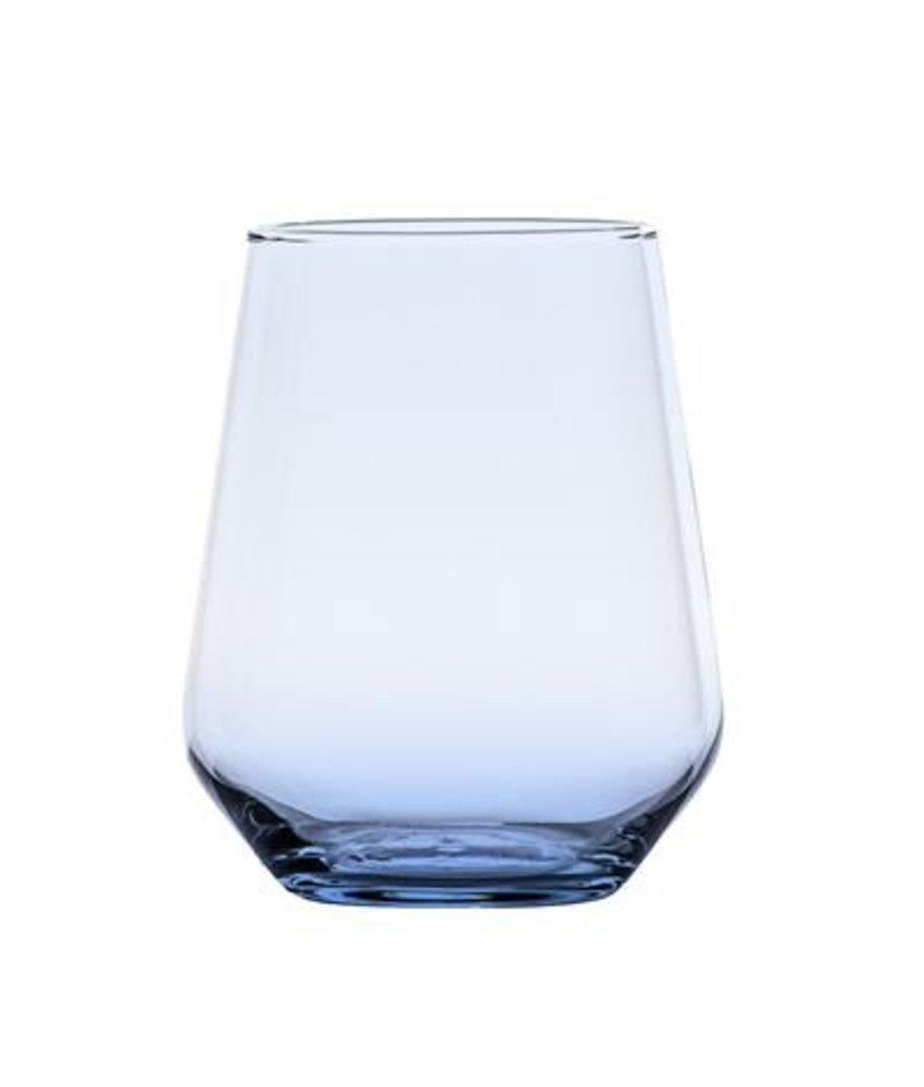 Stylepoint Waterglas Allegra blauw 430 ml ( 6 stuks)