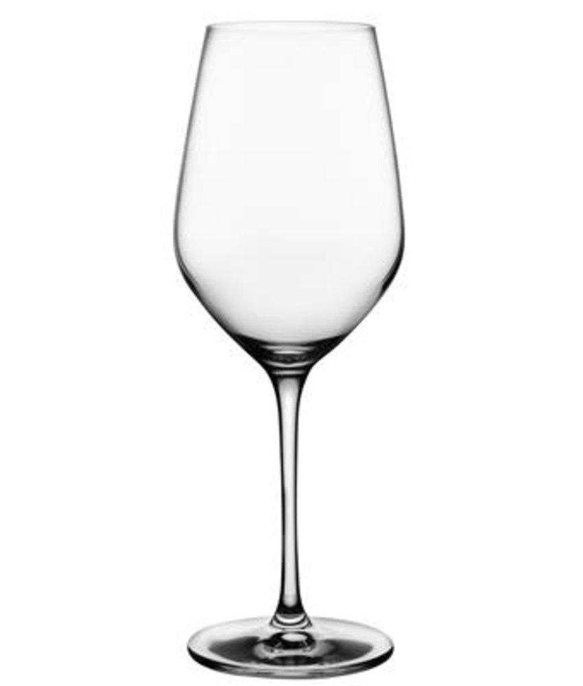 Nude Climats witte wijnglas 390 ml ( 6 stuks)