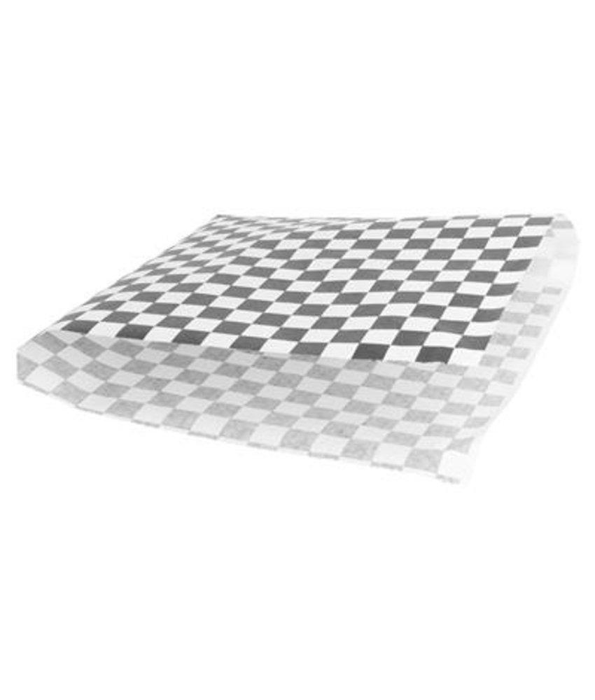 "Stylepoint Vetvrijpapier zak""Cubes black/white""18x17cm 500pak"
