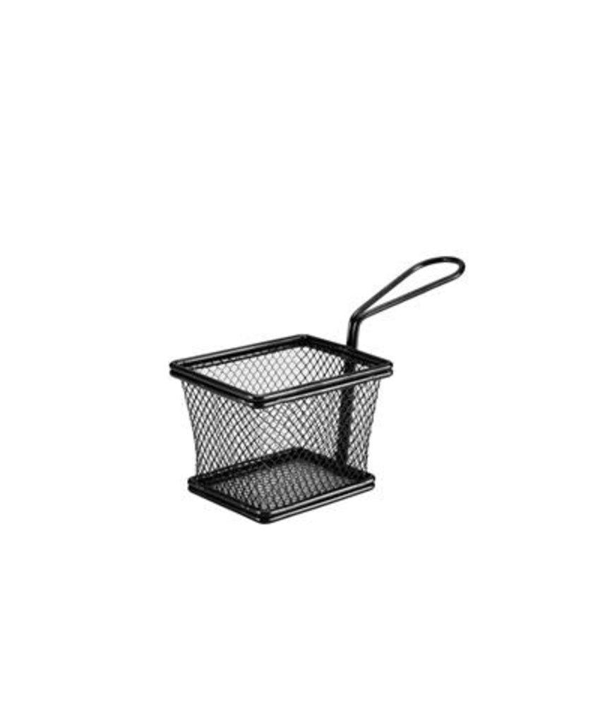 Stylepoint Pres. draadmandje zwart rechth. 10 x 8 x 7,5 cm ( 6 stuks)