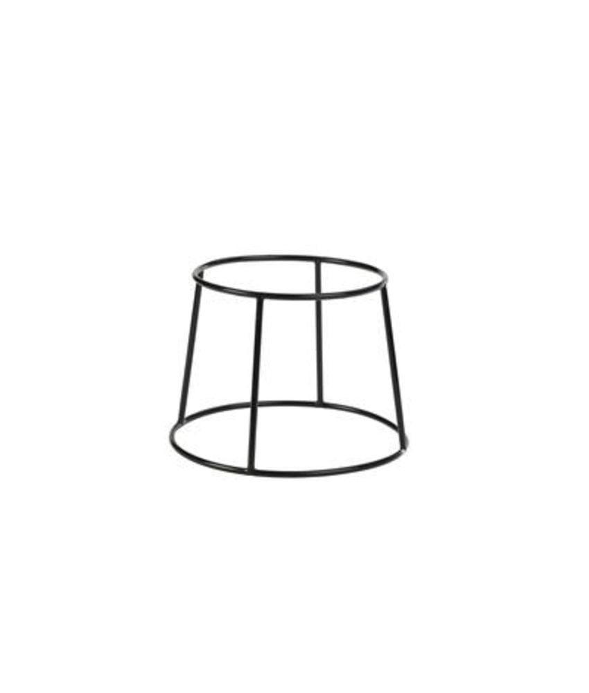Stylepoint Zwarte anti-slip verhoger round 20 x 25 cm