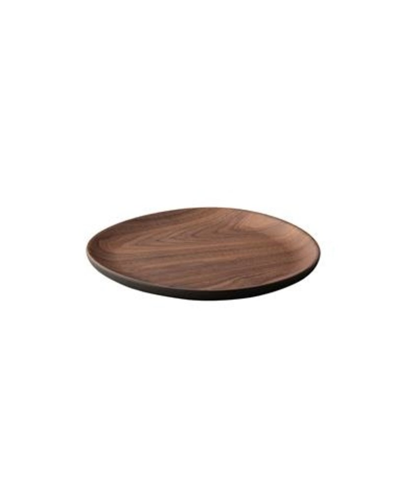 Stylepoint Eco-Friendly Bamboo plateau walnoot rond 20 cm