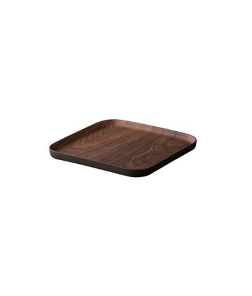 Stylepoint Eco-Friendly Bamboo plateau walnoot vierkant 21 cm