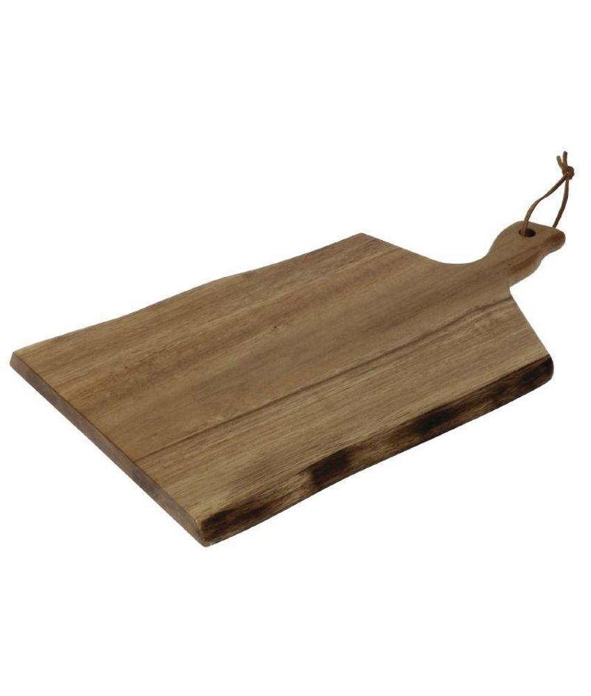 Olympia Olympia Acacia plank golvende rand 30,5x21,5cm