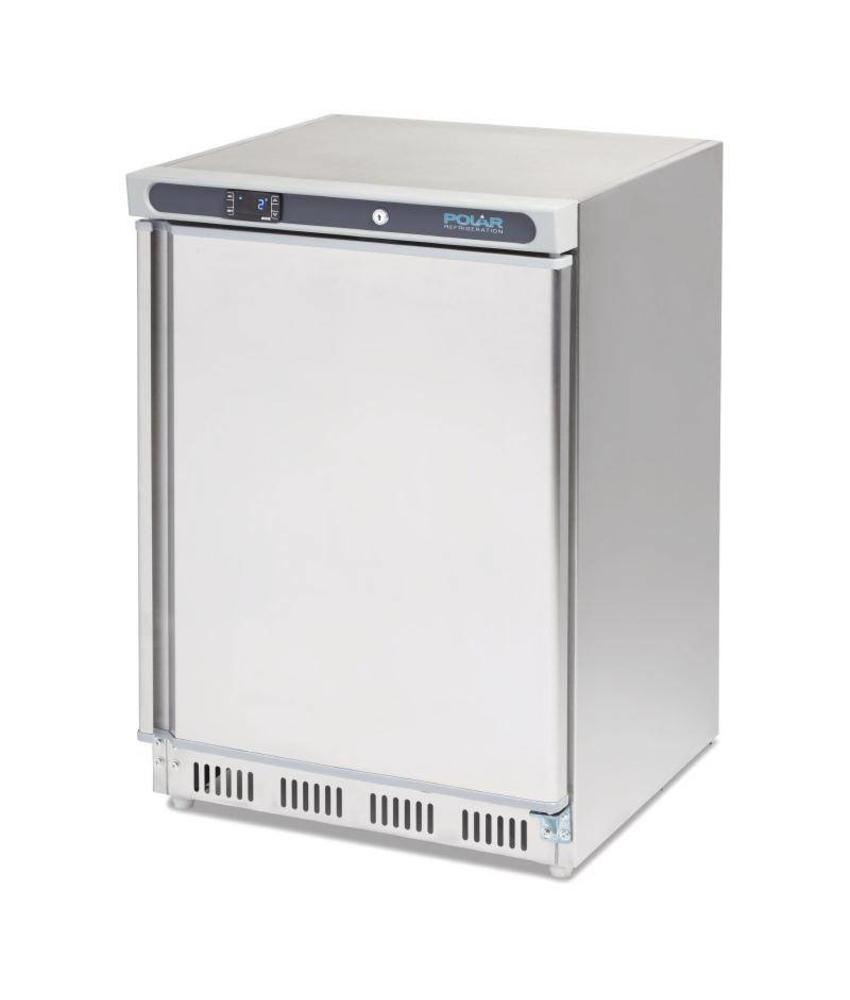 Polar Polar tafelmodel koeling RVS 150ltr