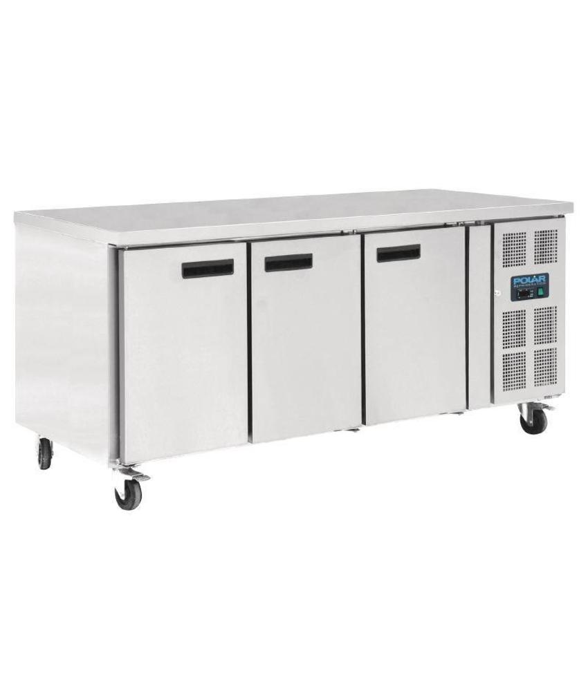 Polar Polar 3-deurs patisserie counter 634ltr