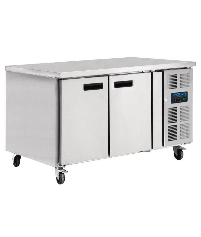 Polar Polar 2-deurs patisserie counter 427ltr