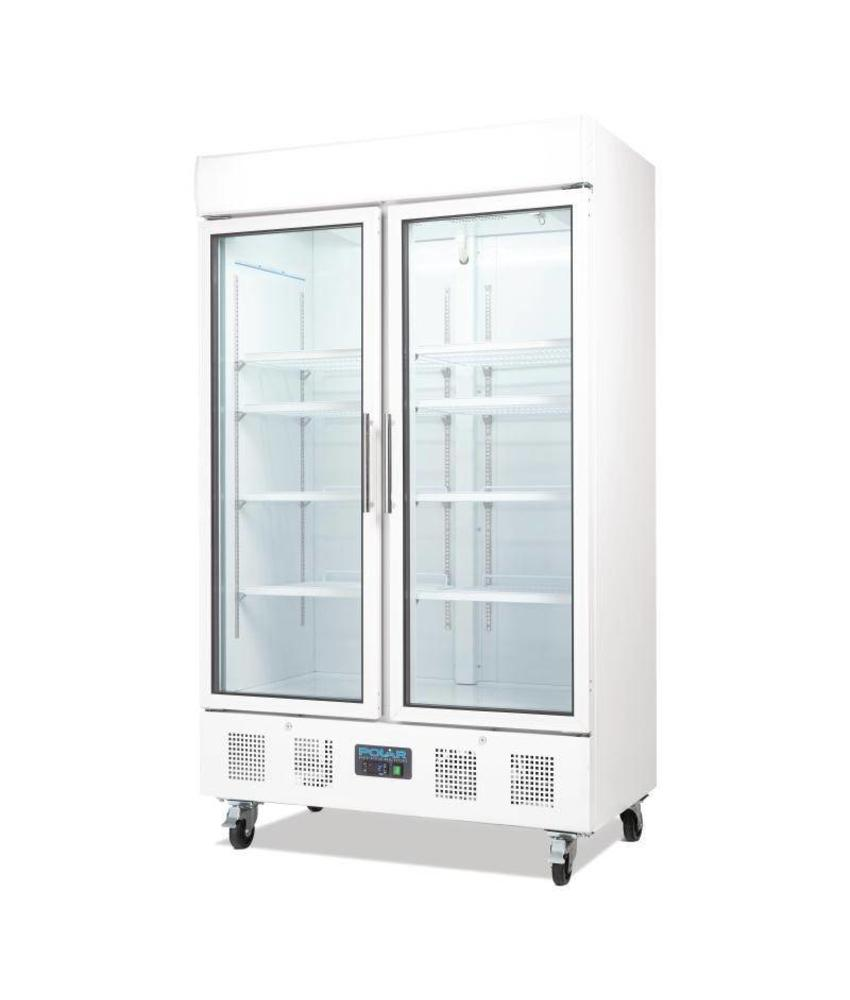 Polar Polar 2-deurs display koeling 944ltr