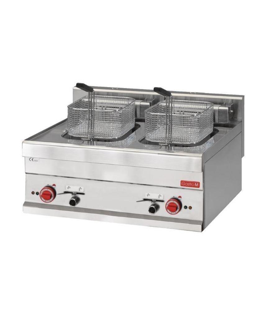 GASTRO-M Gastro M elektrische friteuse 2x 10L 60/70 FRE