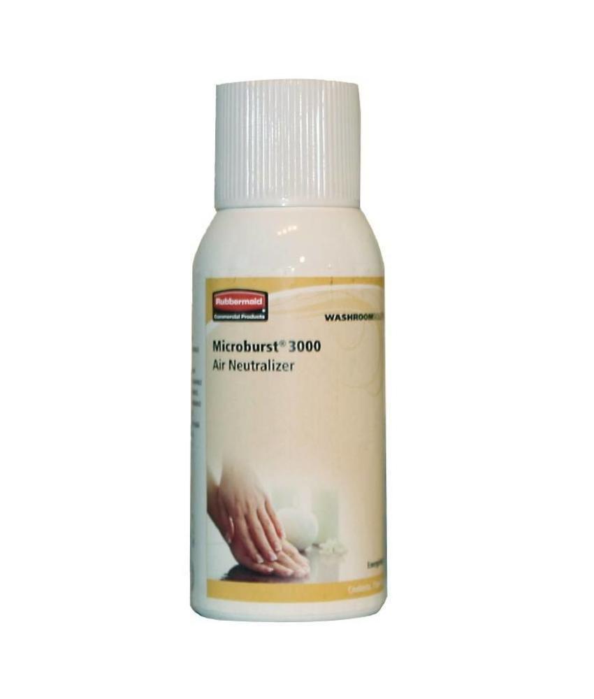 Rubbermaid Rubbermaid Microburst luchtverfrisser navulling 'Energizing spa' 12 stuks