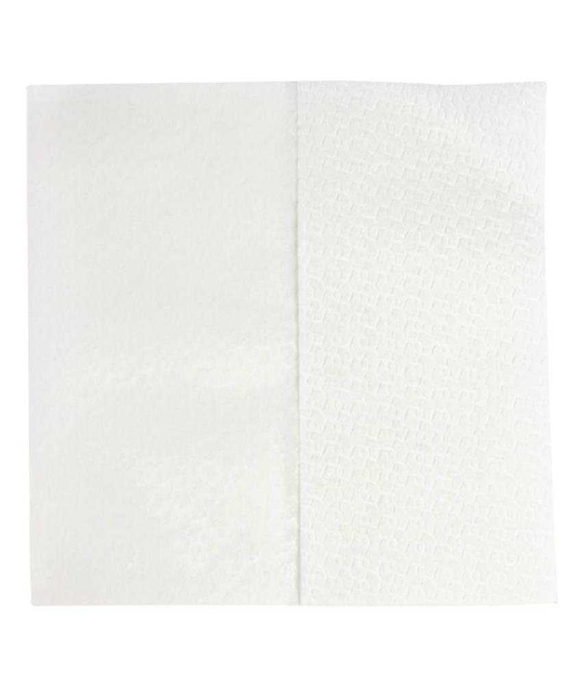 Jantex Jantex witte airlaid handdoeken 1-laags 1200 stuks